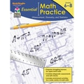 Houghton Mifflin Essential Math Practice Measurement Geometry And Statistics Book, Grades 6 - 8
