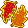 Trend Enterprises® 5 1/2 Classic Accents, Autumn Leaves