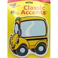 Trend Enterprises® 5 1/2in. Classic Accents, Beaming Buses