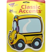 """Trend Enterprises® 5 1/2"""" Classic Accents, Beaming Buses"""