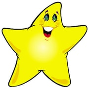 "Trend Enterprises® 5 1/2"" Classic Accents, Shining Stars"