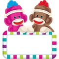 Trend Enterprises® 6in. Classic Accents, Sock Monkeys Signs
