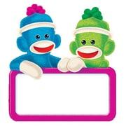 Trend Enterprises® 3 Mini Accents, Sock Monkeys Signs