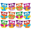 Trend Enterprises® 5 1/2in. - 6in. Clips Classic Accents Variety Pack, Owl Stars