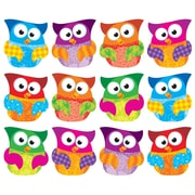 "Trend Enterprises® 5 1/2"" - 6"" Clips Classic Accents Variety Pack, Owl Stars"