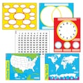 Trend Enterprises® Wipe Off® Charts and Maps Combo Pack, 17in. x 22in.