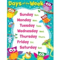 Trend Enterprises® Days Of The Week Owl Stars! Learning Chart