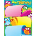Trend Enterprises® Owl News Owl Stars! Learning Chart