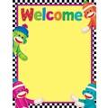 Trend Enterprises® Welcome Sock Monkeys Learning Chart, Science