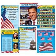 Trend Enterprises® U.S. Presidents Learning Chart Combo Pack, Social Studies