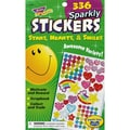 Trend Enterprises® Sticker Pad, Star Hearts Smiles