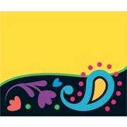 Trend Enterprises® PreKindergarten to 12 Grade Name Tag, Perfectly Paisley