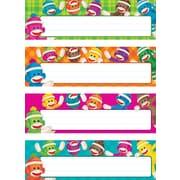 Trend Enterprises® Desk Toppers® PreKindergarten - 3 Grade Name Plate Variety Pack, Sock Monkeys