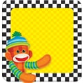 Trend Enterprises® 5in. x 5in. Note Pad, Sock Monkeys