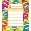 Trend Enterprises® Sock Monkeys Incentive Pad, 5 1/4in. x 6in.
