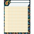 Trend Enterprises® Perfectly Paisley Large Incentive Chart, 17in. x 22in.