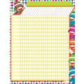 Trend Enterprises® Sock Monkeys Large Incentive Chart, 17in. x 22in.