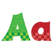 """Trend Enterprises® Snazzy Friendly 4"""" Uppercase/Lowercase Ready Letters® Combo Pack, Multicolor"""