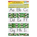 Trend Enterprises® Monkey Mischief Jumbo Alphabet Line Zaner-Bloser Bulletin Board Set
