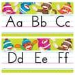 Trend Enterprises® Grade PreKindergarten-4 Sock Monkeys Alphabet Line Bulletin Board Set