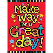 "Trend Enterprises® ARGUS® 13 3/8"" x 19"" ""Make Way For A Great Day"" Poster"
