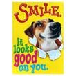 "Trend Enterprises® ARGUS® 13 3/8"" x 19"" ""Smile It Looks Good On You"" Poster"