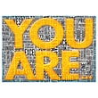 """Trend Enterprises® ARGUS® 13 3/8"""" x 19"""" """"You Are Excellent, Incredible"""" Poster"""