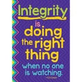 Trend Enterprises® ARGUS® 13 3/8in. x 19in. in.Integrity Is Doing The Right Thing When No On...in. Poster