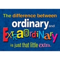 Trend Enterprises® ARGUS® 13 3/8in. x 19in. in.The Difference Between Ordinary...in. Poster
