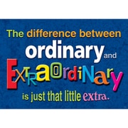 "Trend Enterprises® ARGUS® 13 3/8"" x 19"" ""The Difference Between Ordinary..."" Poster"