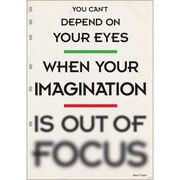 Trend Enterprises® ARGUS® 13 3/8 x 19 You Can't Depend On Your Eyes.. Poster