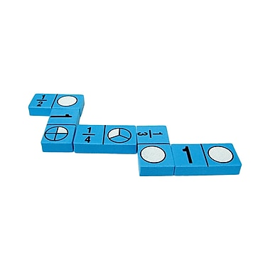 Teacher Created Resources Foam Fraction Dominoes, Grades K And Up