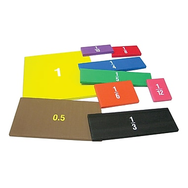 Teacher Created Resources Foam Fraction Squares, Grades K And Up