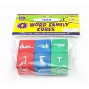 Teacher Created Resources Foam Word Families Cubes, Grade K - 4
