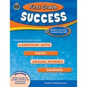 Teacher Created Resources First Grade Success Activity Book, Grade 1