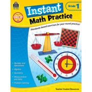 Teacher Created Resources Instant Math Practice Book, Grade 1