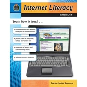 Teacher Created Resources Internet Literacy Activity Book, Grade 3 - 5