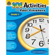 Teacher Created Resources 101 Activities For Fast Finishers Activity Book, Grade 1