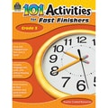 Teacher Created Resources 101 Activities For Fast Finishers Activity Book, Grade 5
