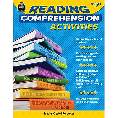 Teacher Created Resources TCR2979 Reading Comprehension Activities Book, Grade 1 - 2
