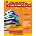 Teacher Created Resources Reading Comprehension Activities Book, Grades 5 - 6