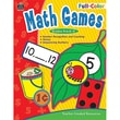 Teacher Created Resources Full-Color Math Games, Grades PreK-K