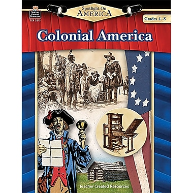 Teacher Created Resources Spotlight On America: Colonial America Book