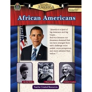 Teacher Created Resources Spotlight On America: African Americans Book, Grades 5 - 8