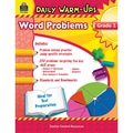 Teacher Created Resources Daily Warm-Ups Problem Solving Math Activity Book, Grade 1