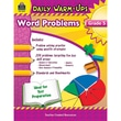 Teacher Created Resources Daily Warm-Ups: Problem Solving Math Book, Grade 5