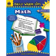 Teacher Created Resources Daily Warm-Ups: Math Resource Book, Grades 2