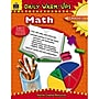 Teacher Created Resources Daily Warm-Ups: Math Resource Book,