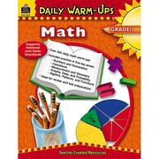 Teacher Created Resources Daily Warm-Ups: Math Resource Book, Grades 3