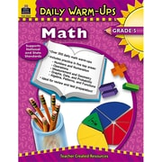 Teacher Created Resources Daily Warm-Ups: Math Resource Book, Grades 5